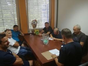 PODELITEV VETERANI IN ŽREB VETERANI ZA T.L. 2017/2018