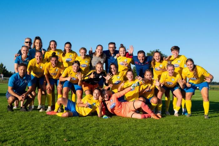 ŽNK Nona Pomurje Beltinci v šestnajstini finala elitne lige prvakinj